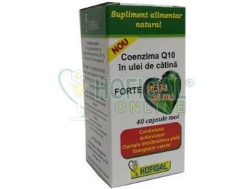 COENZIMA Q10 în Ulei de CATINA 60mg FORTE PLUS (cps)